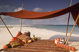 Luxury Beach Vacations - Benguerra Island Lodge in Mozambique