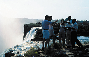 Livingstone Island Luncheon - Luxury Victoria Falls Safaris