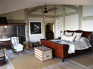 Room Interior at Abu Camp - Luxury Okavango Delta Safaris