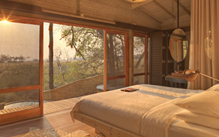 Luxury Botswana Safaris - Sandibe Lodge Interior