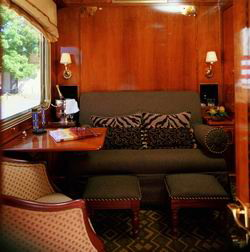 the blue train luxury safari