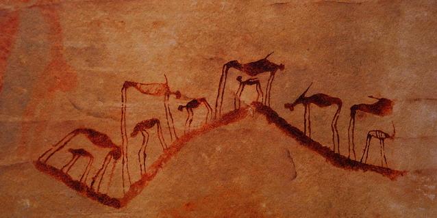 African Art Rock Paintings
